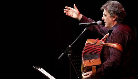 Ambrogio Sparagna: appello per la crisi del mondo dello spettacolo e omaggio alla sua Maranola