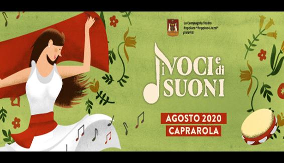 Di voci e di suoni, XIII edizione del festival di musica e teatro popolare