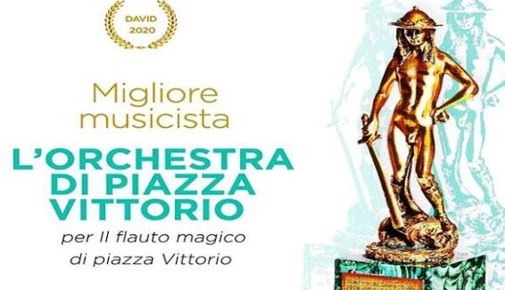 """L'Orchestra di Piazza Vittorio vince il David di Donatello come """"Miglior Musicista"""""""